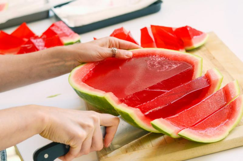 Watermelon Jell-